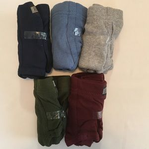 Men's Hanes 5 Tagless Mid Rise Briefs Size S NWOT